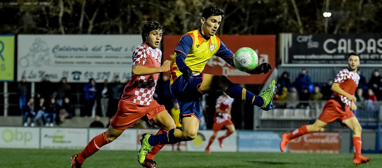 La sub 18 masculina s'estrena amb tres punts d'ofici contra Castella i Lleó