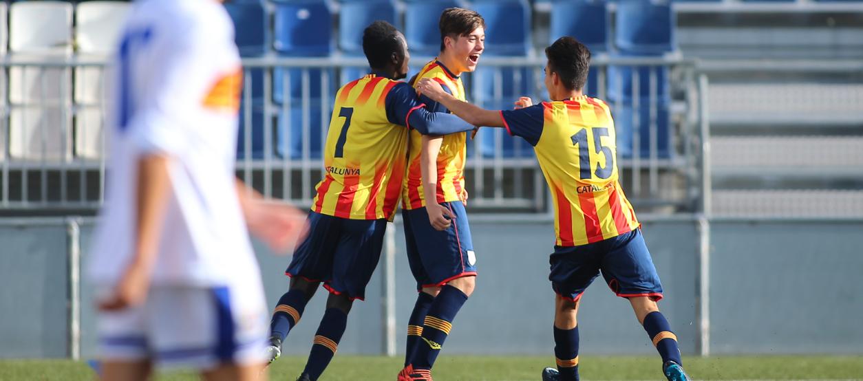 La sub 16 masculina firma un nuevo triunfo brillante contra Aragón