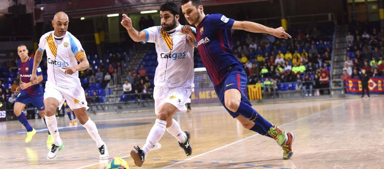 El derbi català de Primera Nacional de Futbol Sala obre l'any nou