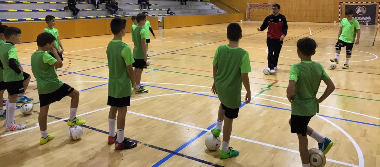 A Òdena han rebut formació a través de la 6a Jornada de Tecnificació de Futbol Sala