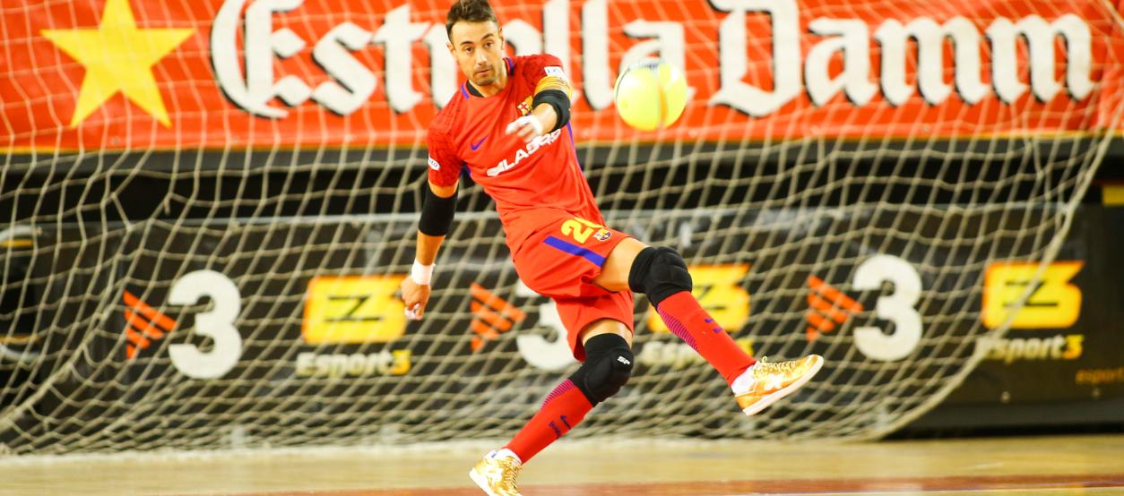 Paco Sedano, nomenat millor porter del món  de futbol sala