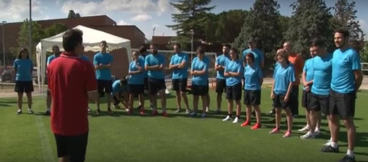En marxa el 4t curs de readaptació del futbolista