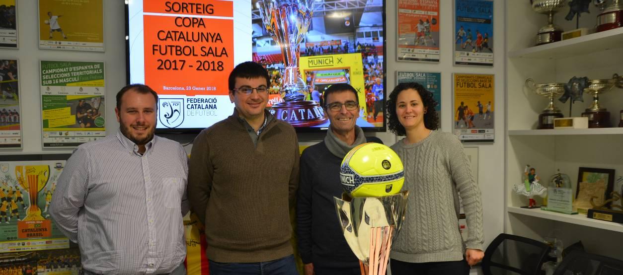 Sortejats els caps de sèrie  de la Copa Catalunya de Futbol Sala