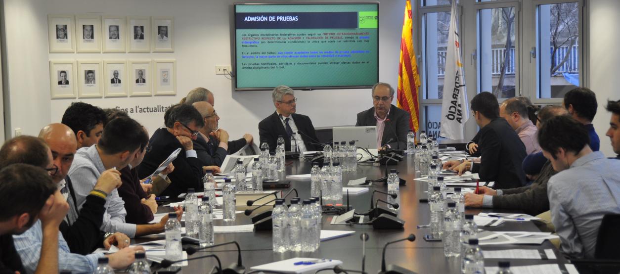 Sessió formativa dels Comitès de Competició i Disciplina Esportiva