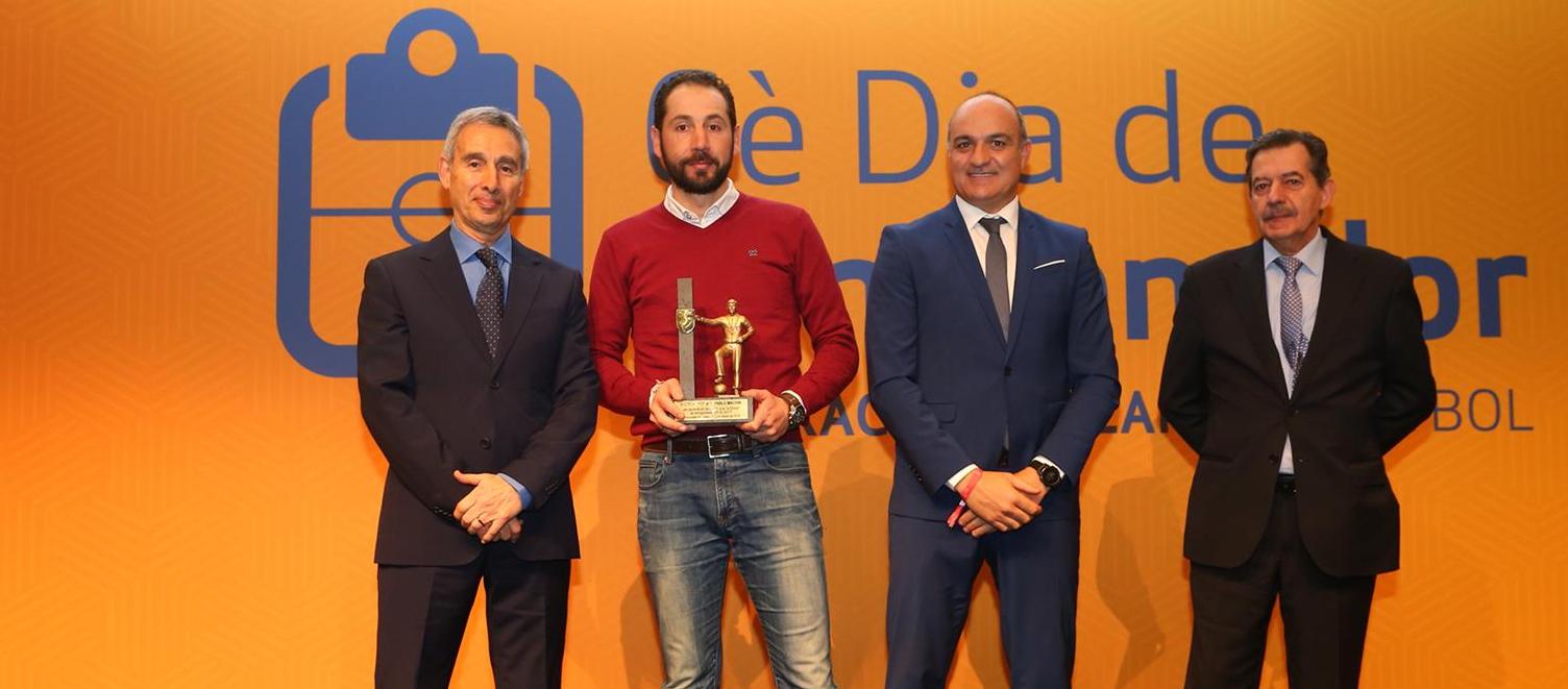 Els millors tècnics catalans, guardonats en el 6è Dia de l'Entrenador