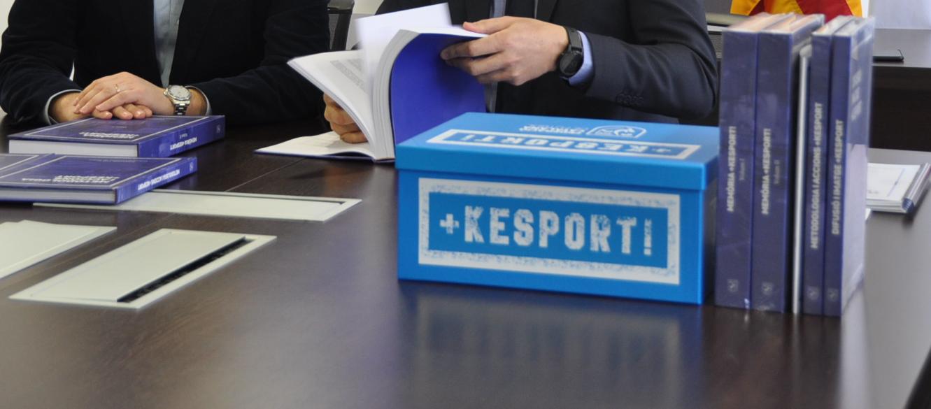 L'FCF enviarà a tots els clubs les habilitats de +KESPORT!
