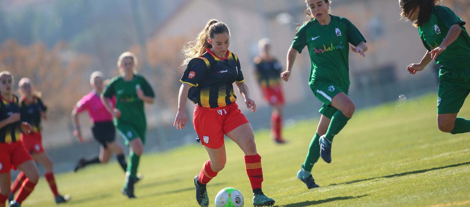 Treballada i soferta victòria de la sub 18 femenina davant Andalusia