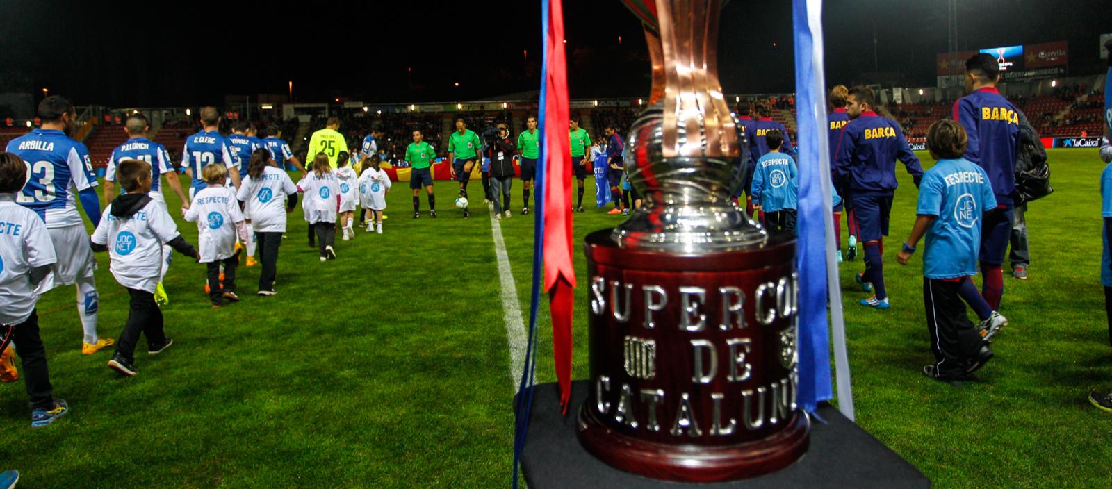 Els socis del Lleida, Barça i Espanyol tenen descomptes en l'entrada de la Supercopa