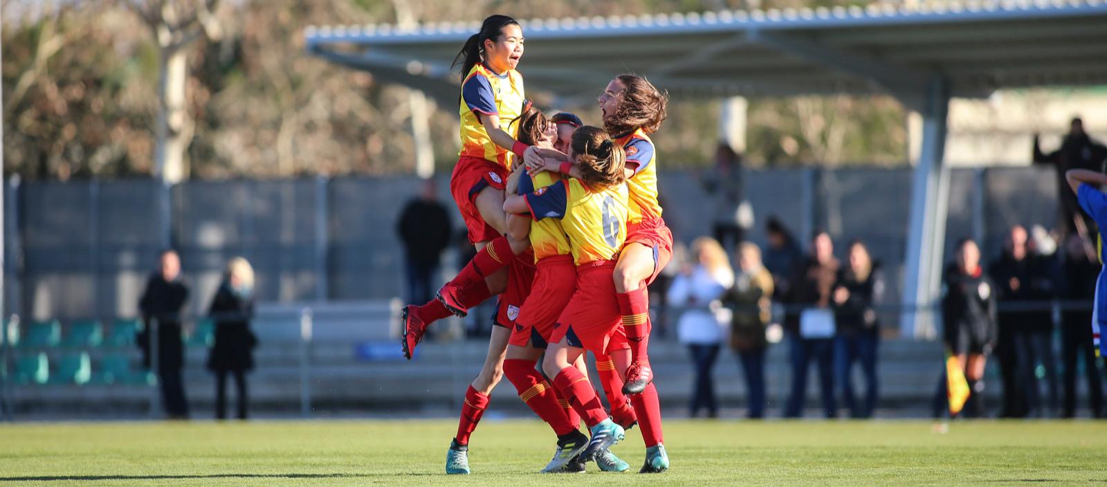 Les Seleccions femenines disputaran la semifinal del Campionat d'Espanya