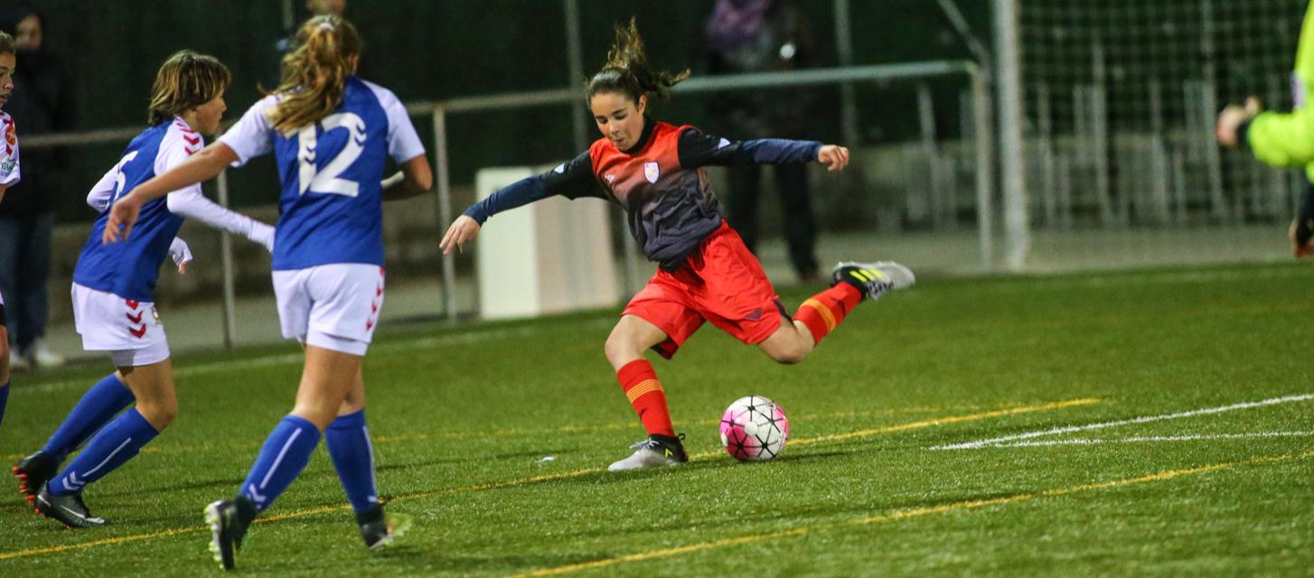 Primer test de la Selección sub 12 femenina ante el Sant Gabriel y el Llerona