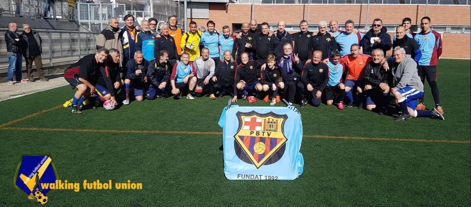 La PB Trinitat Vella celebra 25 anys disputant el Torneig Walking Football Union