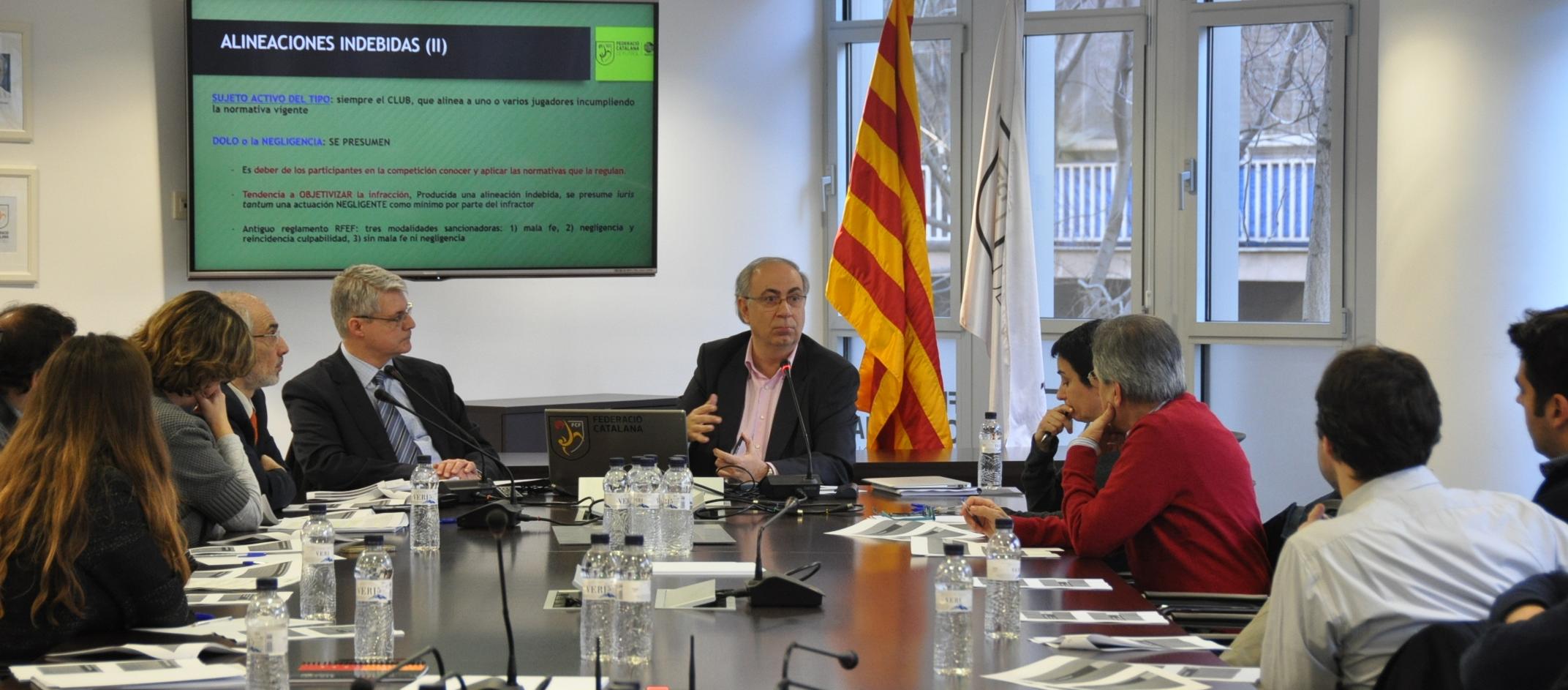 Nova sessió formativa per als membres dels Comitès de Competició