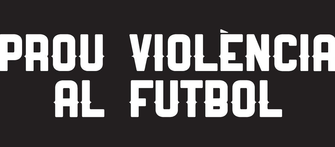 Un minut de silenci a tots els camps de futbol i futbol sala per condemnar la violència