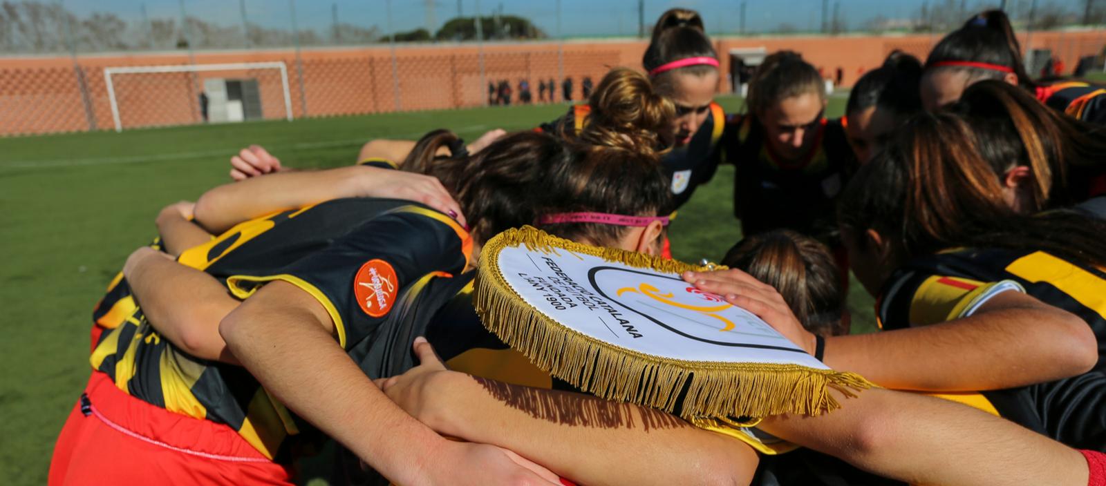 Las sedes y las rivales de las Selecciones Catalanas femeninas en la Fase Final