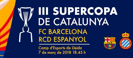 Les primeres plantilles del Barça i l'Espanyol estaran a Lleida