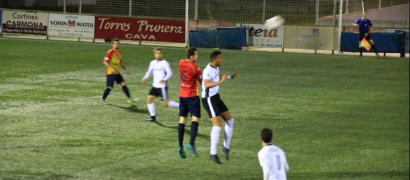 El Vilafranca empata contra l'Ontinyent en l'anada de les semifinals de la Copa RFEF