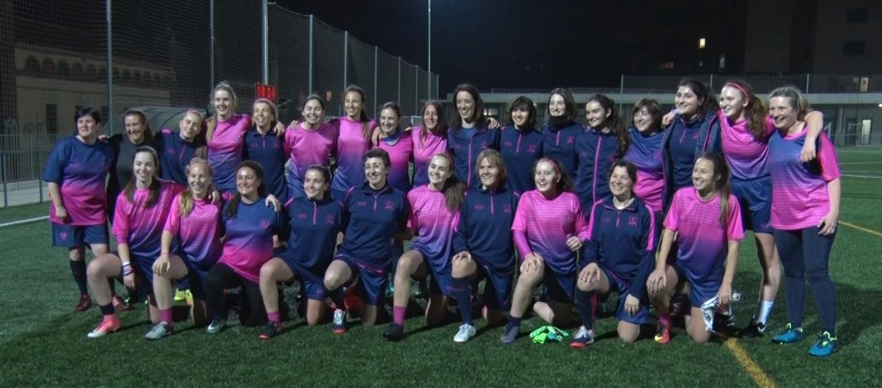 El Women's Soccer School, un equip exclusivament femení amb un estil de formació únic