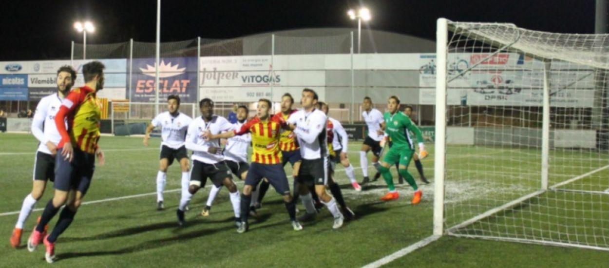 El Vilafranca, eliminat en semifinals de la Copa RFEF contra l'Ontinyent