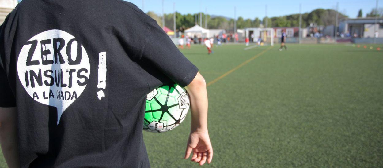 La Federació Catalana de Futbol, tolerància zero contra la violència