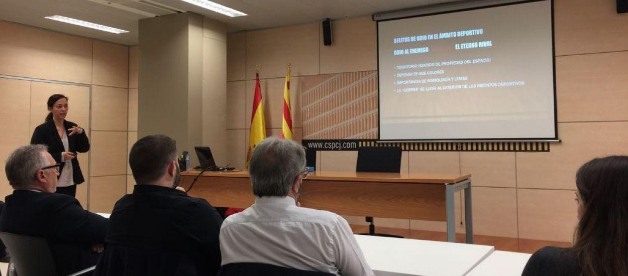 L'FCF, present a la conferència 'Delictes d'odi en els esdeveniments esportius. Mesures per a la prevenció de la violència'