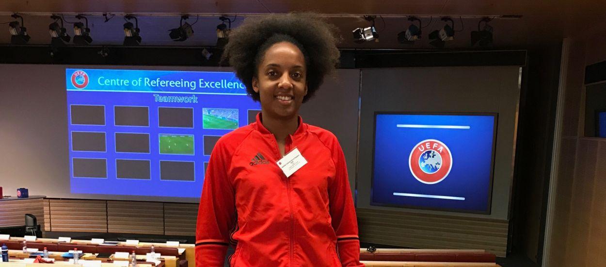 Matilde Esteves participa al CORE de la UEFA