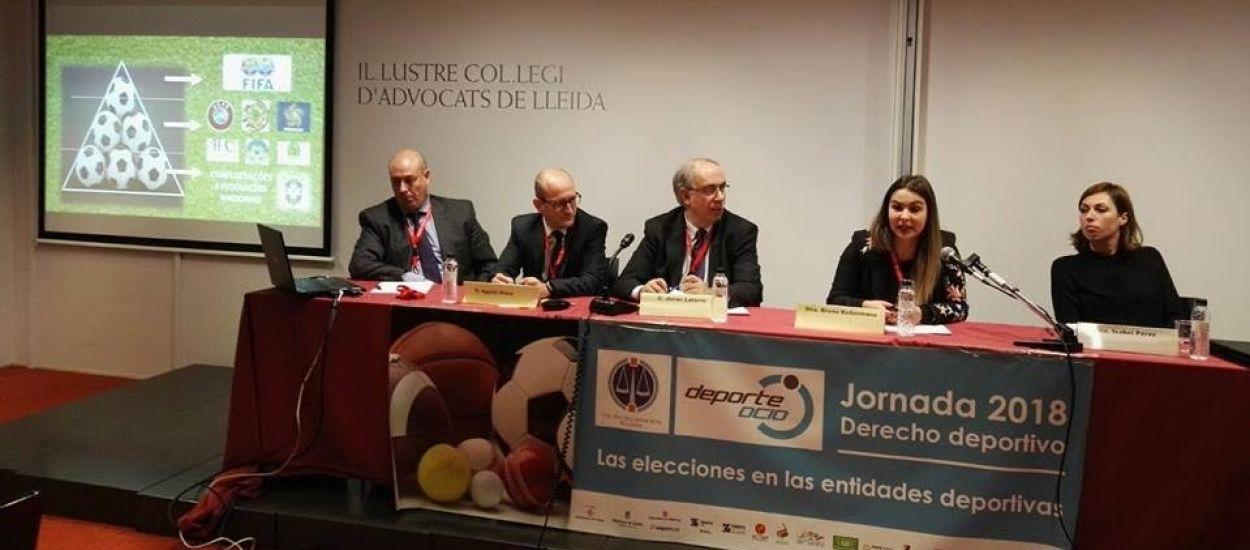 L'FCF participa a la jornada sobre 'Les eleccions a les entitats esportives'