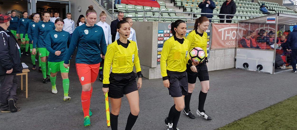Ainara Acevedo s'estrena en el Women's Under-17 Euro Elite Round