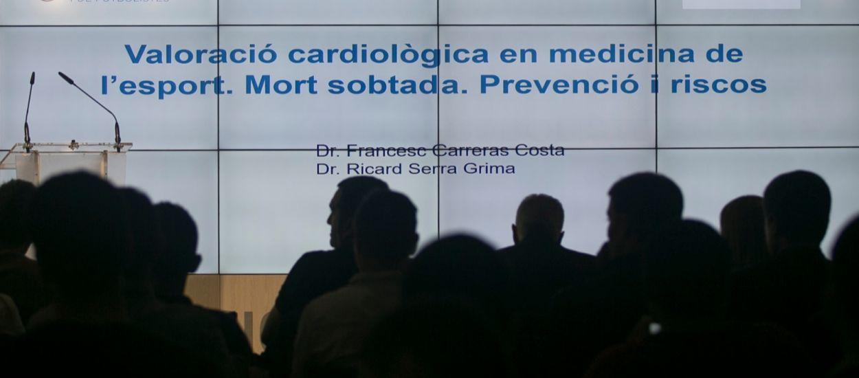La conferència sobre la mort sobtada arriba a Girona