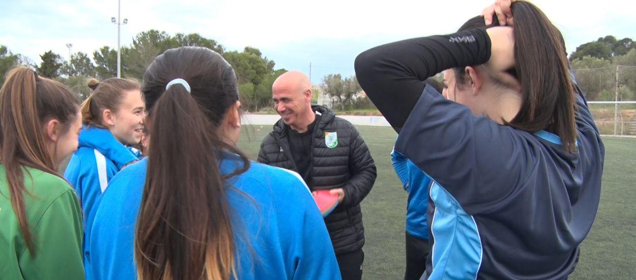 La UE Tancat prioritza la base per assegurar el futbol femení del futur