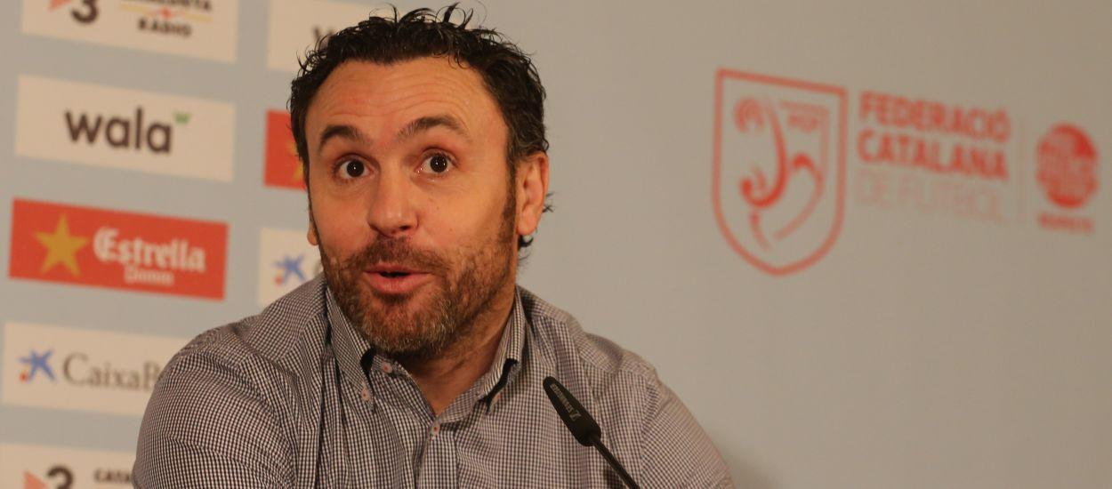 El seleccionador català Sergio González, nou entrenador del Valladolid