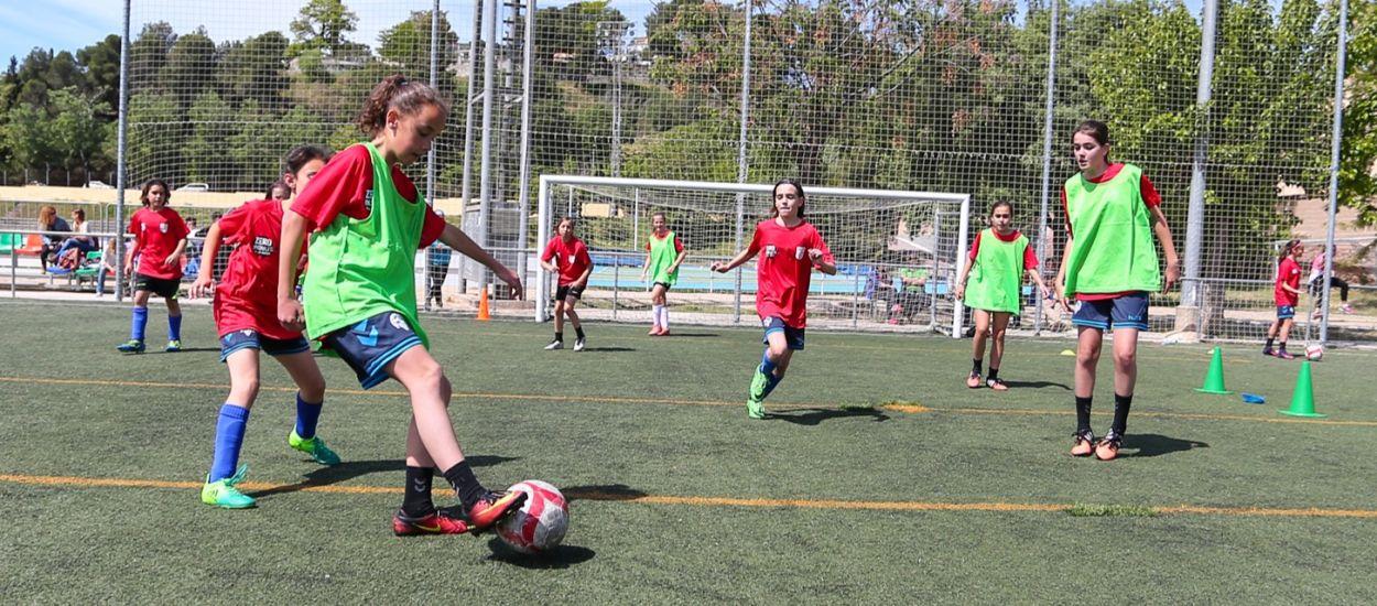 Activitats, estacions de joc i partits a la 6a Jornada de Futbol Femení