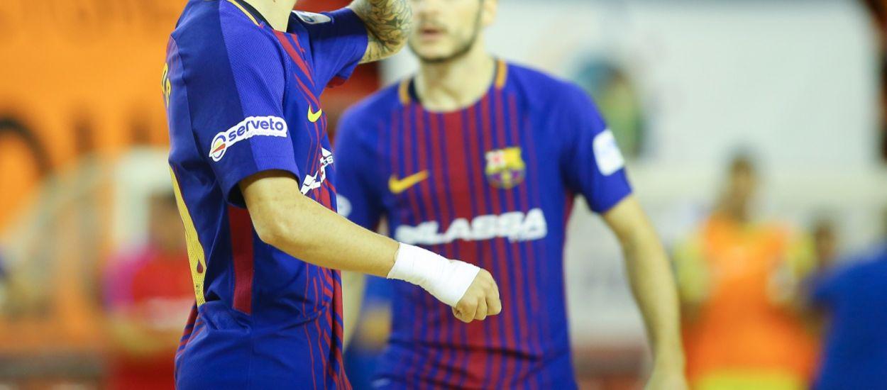 El Barça disputarà la final de la Copa del Rei de Futbol Sala a Càceres