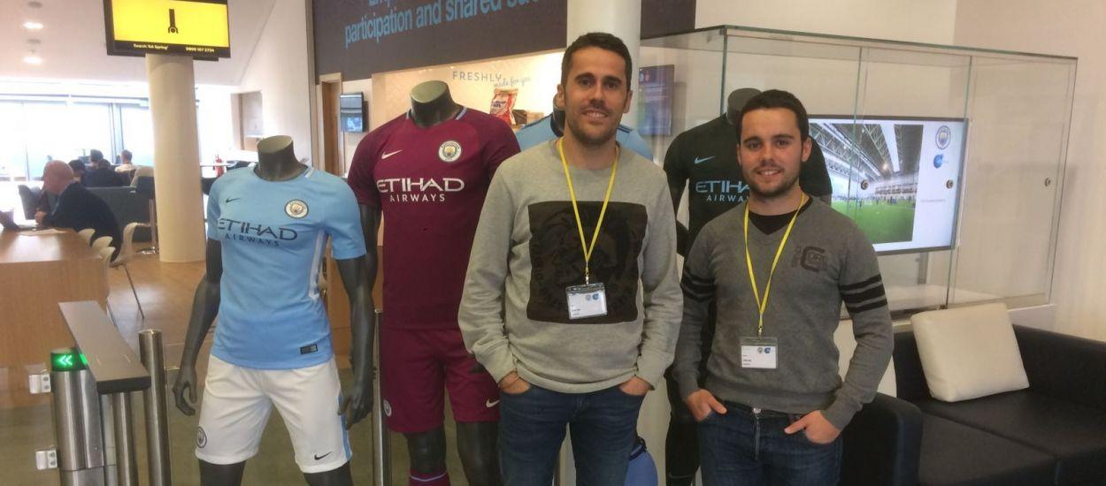 Els seleccionadors catalans sub 16 i sub 12 masculins visiten Manchester