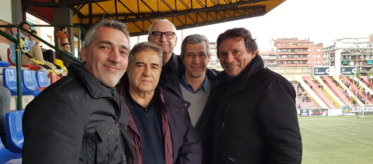 Presència federativa al derbi Sant Andreu-Europa