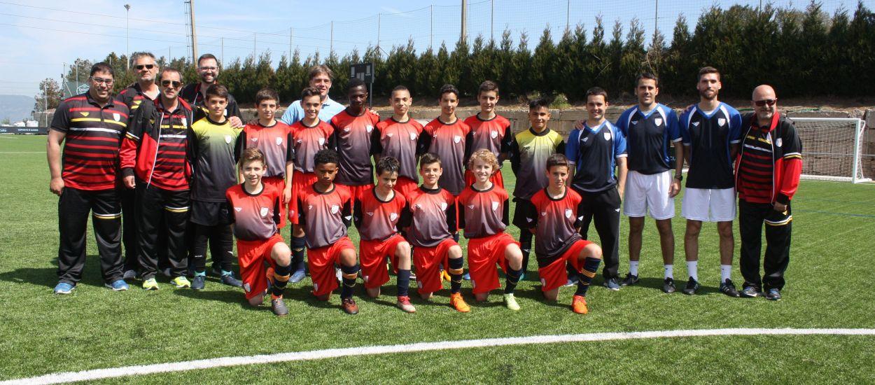 La Selecció sub 12 masculina arriba a Galícia per disputar el Campionat d'Espanya