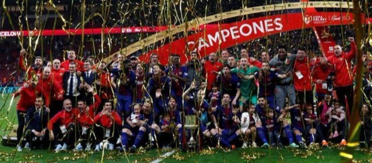 El Barça es proclama campió de la Copa de Rei 2018 per quart any consecutiu