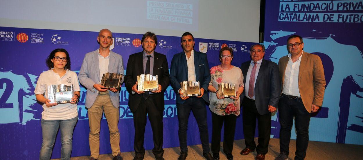Emoció i il·lusió en el lliurament dels II Premis Solidaris de la Fundació de l'FCF