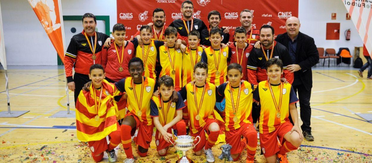 Catalunya, brillant campiona d'Espanya
