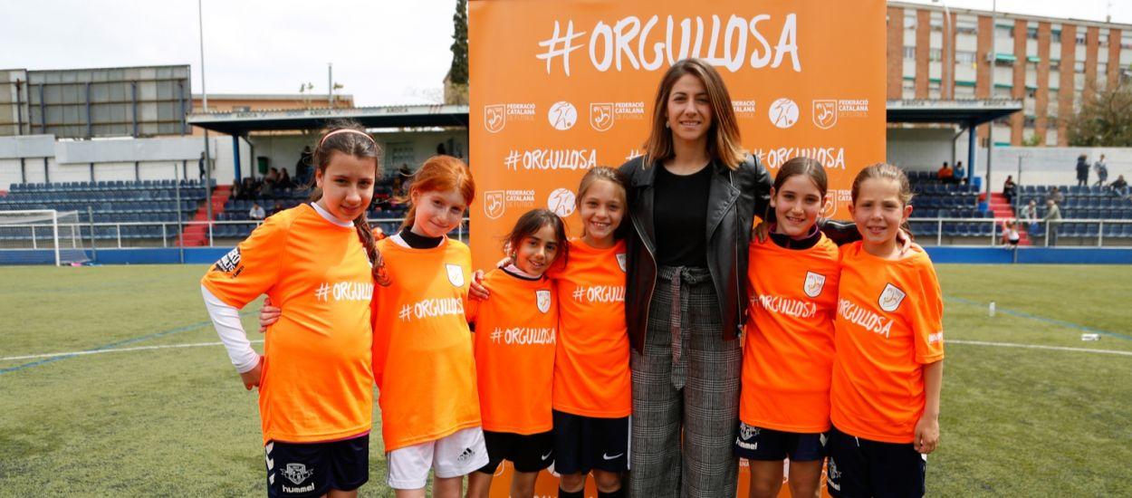 Les ambaixadores de la Jornada de Futbol Femení auguren un futur brillant