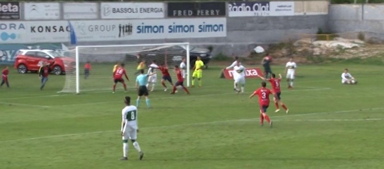 Resum i gols de la jornada 38 de Segona Divisió 'B' (Grup 3)