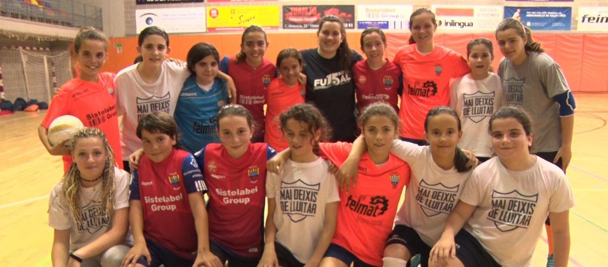 El CEF Mataró, edificant el futbol sala femení català del futur