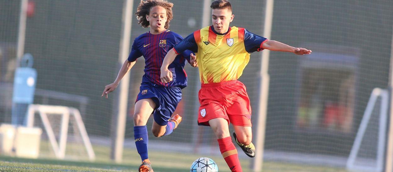 Intens test de la sub 16 masculina contra el Barça