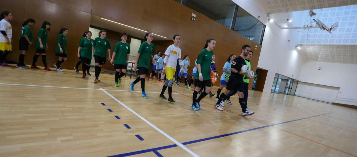 La Selecció Catalana Infantil femenina de Futbol Sala que competirà