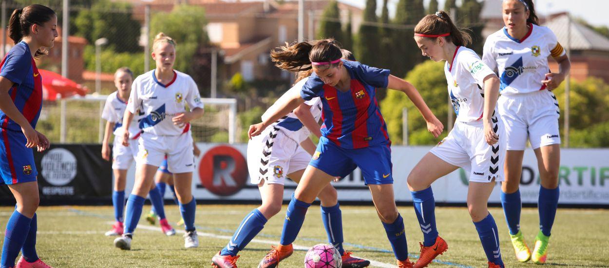 Sorteig de camp de les semifinals del Campionat de Catalunya Prebenjamí-Benjamí-Aleví femení