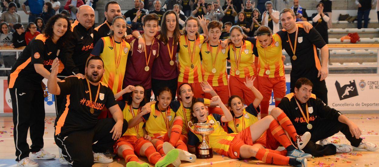 Catalunya s'imposa a Madrid i es proclama campiona d'Espanya