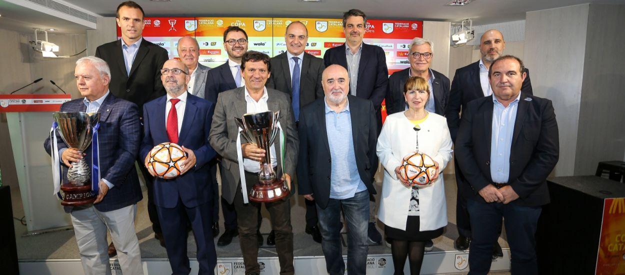 Presentadas las finales de la Copa Catalunya Absoluta y del Campeonato de Catalunya Amateur
