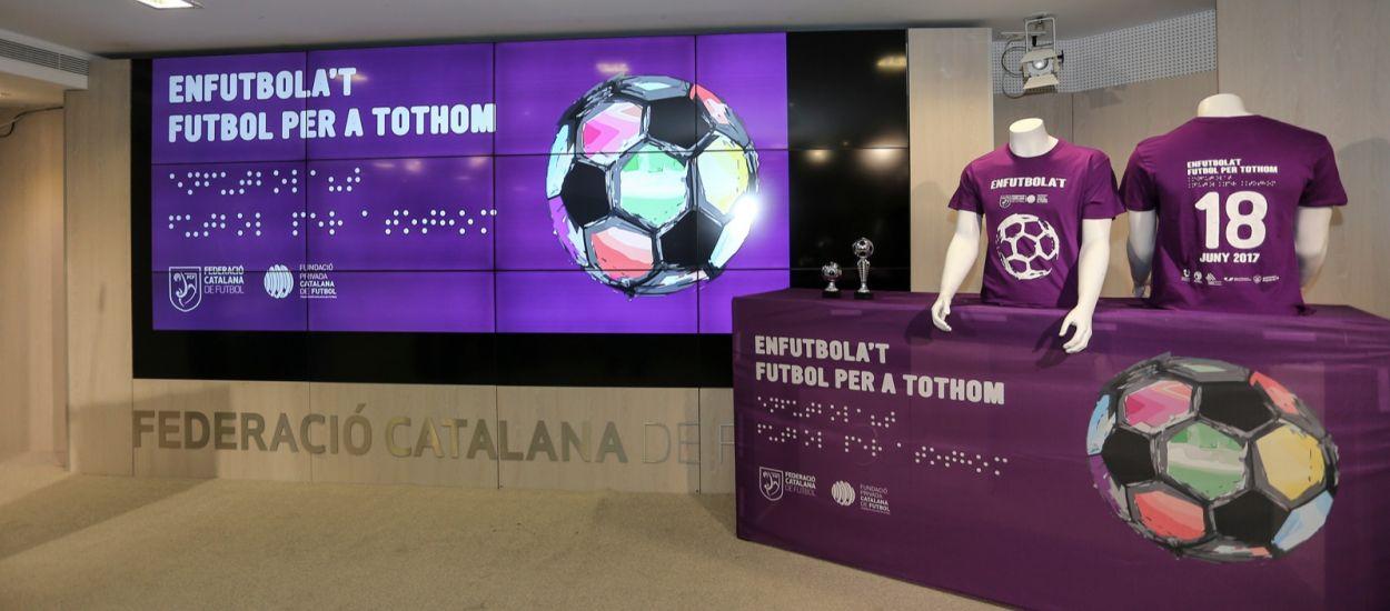 Presentación de la segunda edición de 'Enfutbola't. Futbol per a tohom'