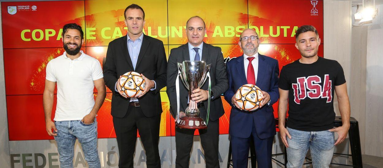 Els protagonistes de la final de la Copa Catalunya Absoluta