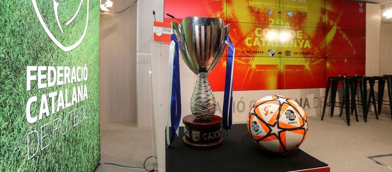 Les finals de Copa Catalunya i el Campionat de Catalunya Amateur s'emetran en directe