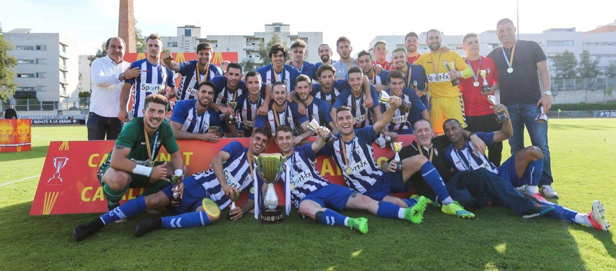 El San Cristóbal aixeca la copa del Campionat de Catalunya Amateur